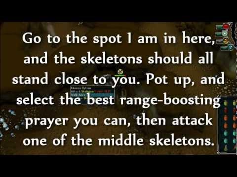 RuneScape – Ape Atoll chinning guide – 500k+ Range exp per hour! – Monkey Skeletons – 0994JT