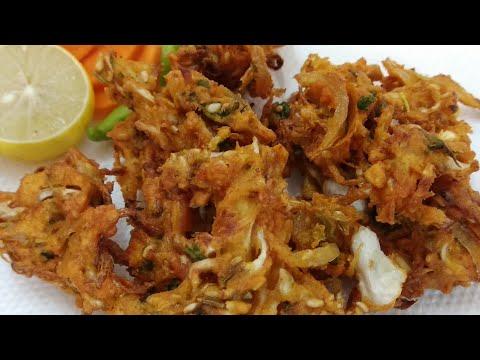 पत्ताकोबी पकोडे रेसिपी / Cabbage Pakoda Recipe / Patta Gobi Pakoda Recipe