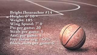 Bright Iheanachor Basketball Mixtape