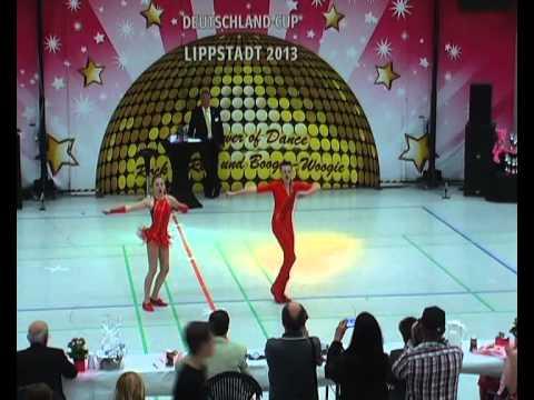 Amila Okanovic & Tim Huber - Deutschland Cup 2013