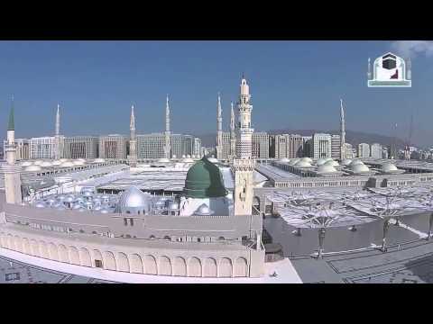 Inçizim mbresëlënës i Xhamisë së Profetit nga flutarakja e telekomanduar
