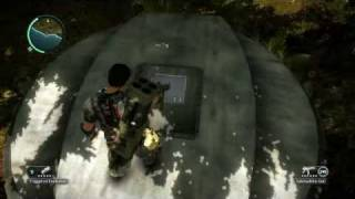 Just Cause 2 Bunker LOST