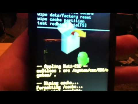 How-to: Factory reset Samsung Galaxy Ace