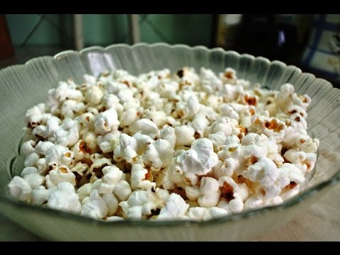 Попкорн кукурузы домашних условиях