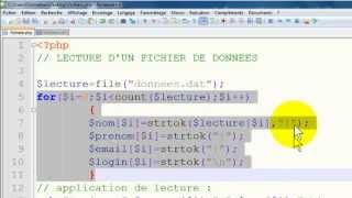 PHP : Lecture d
