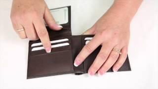 RFID Italian Leather Bifold 6 slot