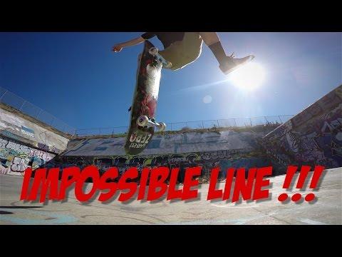 IMPOSSIBLE SKATEBOARDING LINE !!! GARRETT HILL