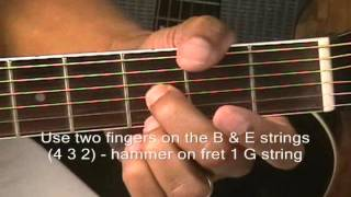 How To Play Old School 12 Bar Blues PART 5 The Tricky One Finger Ending & Variations