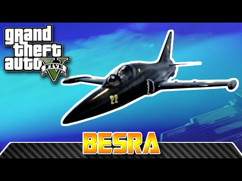 GTA V - Western Company Besra (Northrop F-5 / L-39 Albatros) TEST FLIGHT