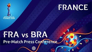 FRA v. BRA - France Pre-Match Press Conference