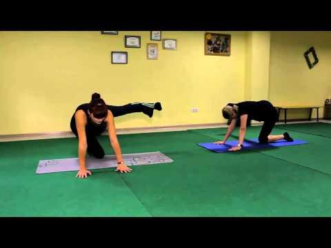 Оксисайз, упражнение для ягодиц и бедер, видео урок онлайн.