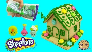 DIY Shopkins Vanilla Cookie House with Frosting + Candy Kit - Cookieswirlc Video