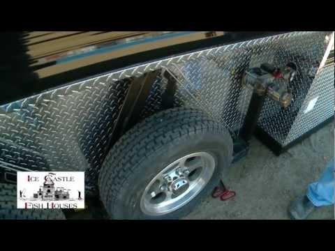 Ridgeline mfg portable fish house video diy reviews