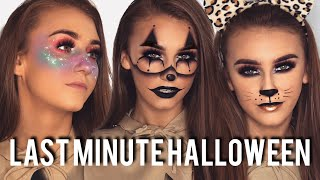 4 EASY LAST MINUTE HALLOWEEN MAKEUP IDEAS | HALLOWEEN MAKEUP TUTORIAL | REBECCA CAPEL MAKEUP