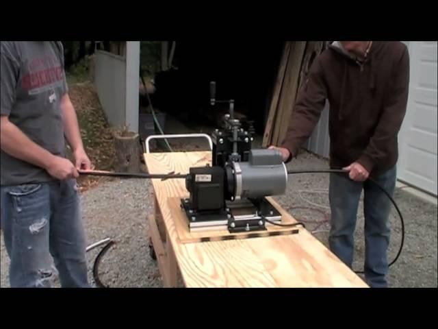 Scrap Wire Stripping Machine - YouTube