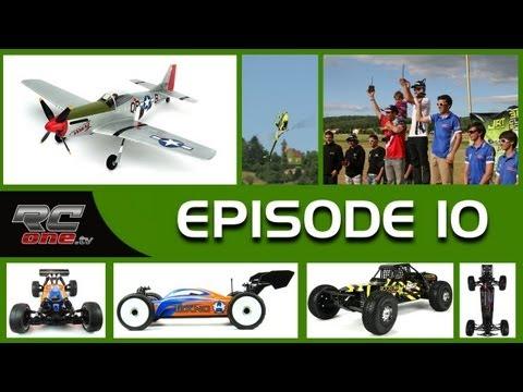 RC one TV #10 : 3D Cup, EB48 Tekno RC, Losi SCB, Micro P51 Parkzone