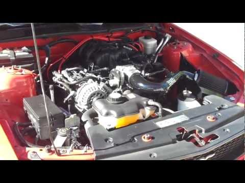 RADIATOR COOLANT FLUSH ON 05+ FORD MUSTANG V6 OR GT
