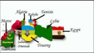 LA VRAI CARTE DU NORD D_AFRIQUE - GRAND MAGHREB