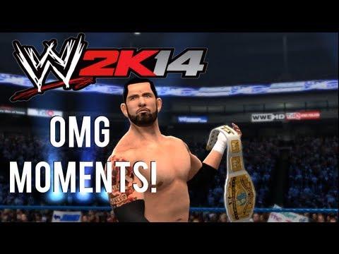WWE 2K14 - OMG Moments (Spectacular Moments) Ft. Wade Barrett