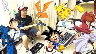 90's Anime Rock Medley