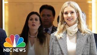 Ivanka Trump Arrives In South Korea To Attend Winter Olympics Closing Ceremony   NBC News