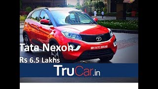 TATA NEXON Price, Launch Date, Features, All details in English. Is it better than Vitara Brezza?