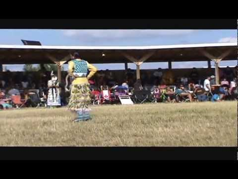 Beaver Lake Powwow 2013 - Teen Girls Jingle Specia video