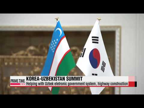 Leaders of Korea, Uzbekistan agree to expand economic cooperation