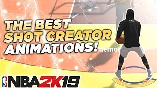 BEST SHOT CREATOR ANIMATIONS in NBA2K19 • HOW TO BE LIKE TYCENO in NBA2K19!
