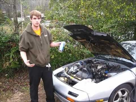 one way to check your car for vacuum leaks