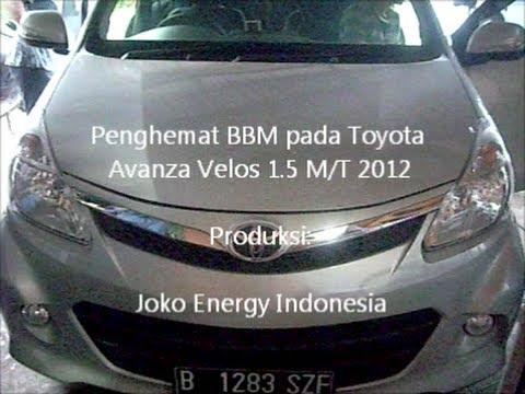 Fuel saver on Toyota Avanza Veloz 1 5 MT 2012