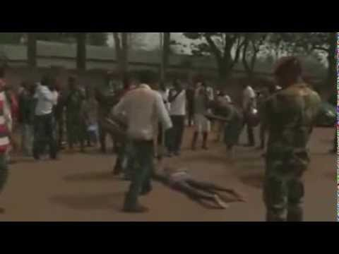 TWO MEN LYNCHED AT CENTRAL AFRICAN REPUBLIC