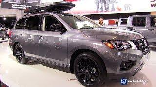 2018 Nissan Pathfinder Midnight Edition - Exterior and Interior Walkaround - 2018 Montreal Auto Show