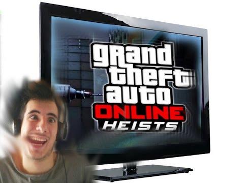 La Mia Reazione Nell'aggiornamento di GTA V (GTA Online Heist)