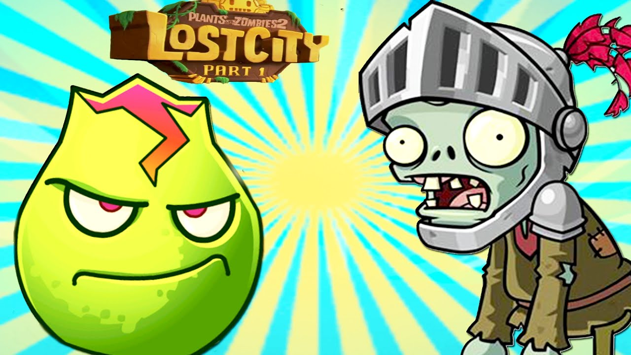 Plants vs Zombies 2 Lava