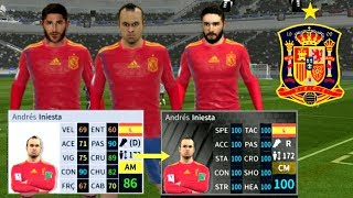 How To Hack Spain Team 2019-All Players 100 IN DREAM League Soccer 2019 NEW UPDATE