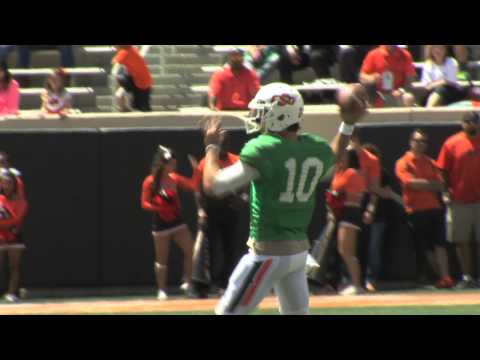 Cowboy Football: 2013 Spring Finale Highlights