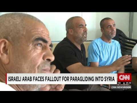 Israeli Arab Paraglider Sails into Syria