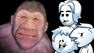 Oney Plays FINDING BIGFOOT (w/psychicpebbles and Niall)