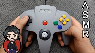 ASMR - Controller Sounds: SNES, N64 and Gamecube [No Talking]