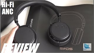 REVIEW: Siros HD5 HiFi ANC Noise Cancelling Headphones