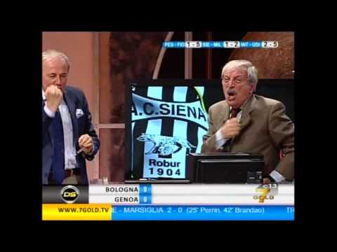 Incredibile Tiziano Crudeli! Milan in Champions League!!! Siena 1-2 Milan