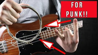 Best Bass Strings For Punk - WATCH BEFORE YOU BUY!