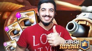 YENİ KART UÇAN MAKİNE'NİN KİLİDİNİ AÇTIM! - Clash Royale
