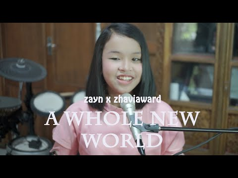 """ZAYN, Zhavia Ward - A Whole New World (End Title) (From """"Aladdin""""/Official Video) Putri Cover"""