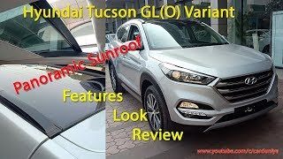 Hyundai Tucson GL(O) Panoramic Sunroof-Complete Details!Features