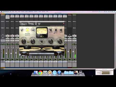 Superior Drummer 2 and Waves Plug-ins