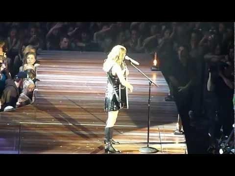 Taylor Swift Australian 'Speak Now' Tour Sunday 4 March 2012 Adelaide Entertainment Centre