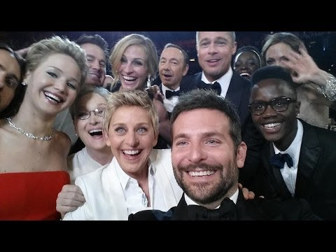 Ellen Doesn't Own The Oscar Super Selfie... This Guy Does video