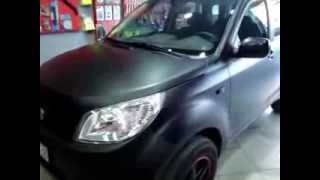 Video Daihatsu Terios ~ CAR WRAPPING GREECE  BLACK MATTE CARS DAIHATSU TERIOS